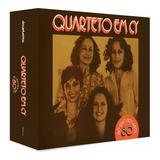 Box Quarteto Em Cy   Ao Vivo 80 Anos