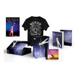 Box Queen Magic Works   Dvd   Livro   Cd   Camiseta   Dvd