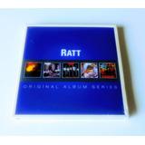 Box Ratt Original Album 5 Cd Cellar Reach Invasion Dokken