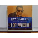 Box Ray Charles Original Album 5 Cds Novo Lacrado
