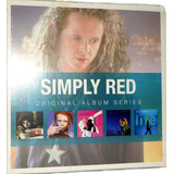 Box Simply Red   Original Album Series   Box Com 5 Cds