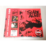Box Slade   The Live Anthology  digipack Duplo C  4 Álbuns