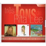 Box Três Tons De Rita Lee   3 Cds