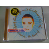 Boy George And Culture Club At The Best Of Cd Lacrado Import