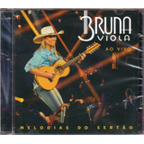 Bruna Viola Cd Melodias Do Sertão Novo Frete Grátis