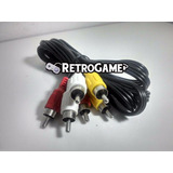 Cabo Rca Av Master System Nintendo Nes Neo Geo Cd Phantom