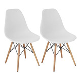 Cadeira Charles Eames Wood Design Kit 02pc Nf Dsw