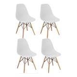 Cadeira Charles Eames Wood Design Kit 04pc Nf   Garantia
