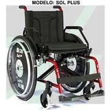 Cadeira De Rodas Sol Plus 44 Com Modulo