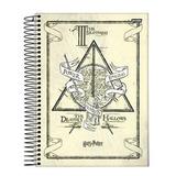 Caderno  Harry Potter Universitário Cd 1x1 96 Fls  Escolar