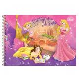 Caderno Cartografia Esp 96f Cd 120278 Sem Seda Princesas Til