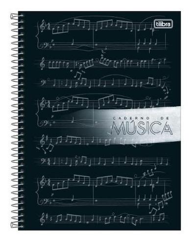 Caderno De Música Para Partituras - Tilibra