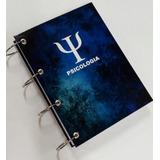 Caderno Universitário Argolado 20 Matérias 400fl Psicologia