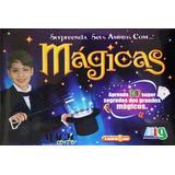 Caixa De Mágicas Com 10 Truques    Grátis Cd Com 60 Mág