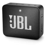 Caixa De Som Bluetooth Jbl Go 2 3w À Prova Dágua Black