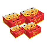 Caixa Embalagem Batata Frita Viagem Delivery Pp p m g 25 Cd