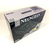 Caixa Vazia Neo Geo Cd De Madeira Mdf