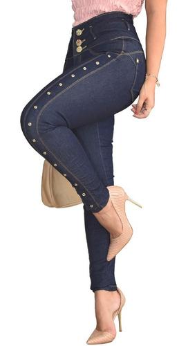 Calça Barata Cós Alto Hot Pants Lycra Zíper Dins Barata