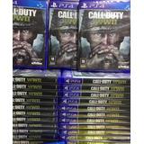 Call Of Duty World War 2 Ww2 Ps4 Mídia Cd Pronta Entrega