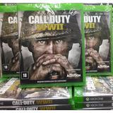 Call Of Duty World War Ww2 Xbox One Midia Cd Envio Imediato