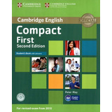 Cambridge English Compact First Sb With Answers And Cd rom