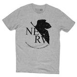Camiseta Animes Nerv Neon Genesis Evangelion Shinji Camisa