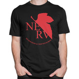 Camiseta Camisa Nerv Anime Neon Genesis Evangelion