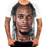 Camiseta Camisa Personalizada Cantor De Rapper Fetty Wap 4