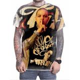 Camiseta Camisa Personalizada Cantor Nocivo Shomon Hip Hop