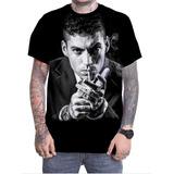 Camiseta Camisa Personalizada Cantor Rapper Filipe Ret Rap