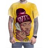 Camiseta Camisa Personalizada Fetty Wap Rapper Trap Pop 08
