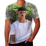 Camiseta Camisa Personalizada Mc Livinho Funk Fluxo Baile 01