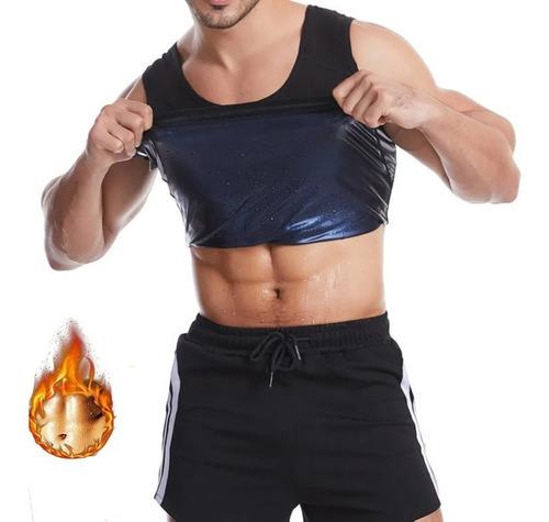 Camiseta Cinta Regata Modeladora Emagrecedora Sauna Suor