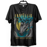 Camiseta The Fratellis 2015 Vintage Retrô 90 s Cd Indie Gr