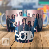 Caneca Soja Banda Reggae Soldiers Of Jah Army Integrantes