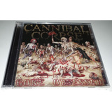 Cannibal Corpse   Gore Obsessed  cd Lacrado