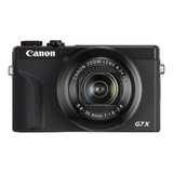 Canon Powershot Serie G G7 X Mark Iii Compacta Avançada Cor Preto