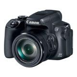 Canon Powershot Sx70 Hs Compacta Avançada Cor Preto