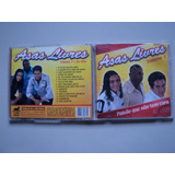 Capa Original Cd   Asas Livres Vol 3 Ao Vivo