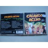 Capa Original Cd   Forro Calango Acesso Ao Vivo
