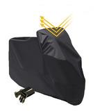 Capa Para Moto Forrada Impermeável Térmica Sol Chuva Lom