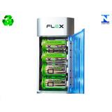 Carregador Para Baterias Aa Aaa C D 9v Recarregáveis Fx c06