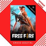 Cartão Free Fire 765 Diamantes + 77 Bonus