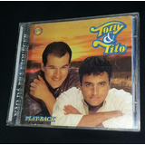 Cd: Play Back  Tony & Tito  nao Dá P  Esquecer