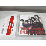 Cd dvd Tohoshinki Break Out  Type A Tvxq Dbsk Kpop Jpop