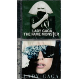 Cd s Lady Gaga   The Fame   Lady Gaga The Monster Duplo