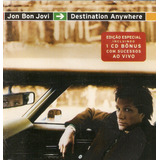 Cd   Cd Bônus Jon Bon Jovi   Destination Anywhere   Usado