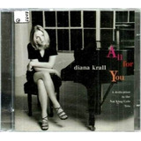 Cd   Diana Krall  1996  All For You   To Nat King Cole  lacr