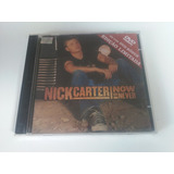 Cd   Dvd  Nick Carter  Now Or Never  Ed Limitada  Lacrado