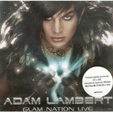 Cd   Dvd Adam Lambert   Glam Nation Live